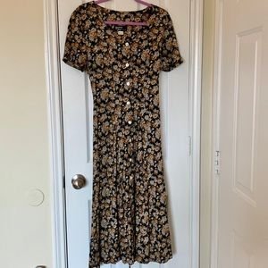 Dawn joy🌼VIntage🌸floral maxi dress🌟size 10🌟